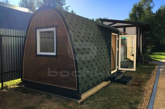Bochky® guest houses are an excellent solution for different yards and recreation departments. They are mobile and can be easily moved
