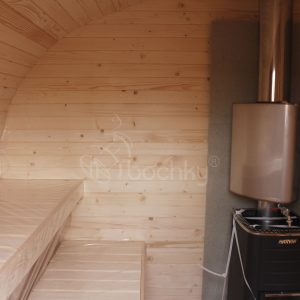 Oval Barrel Sauna