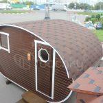Oval Barrel Sauna