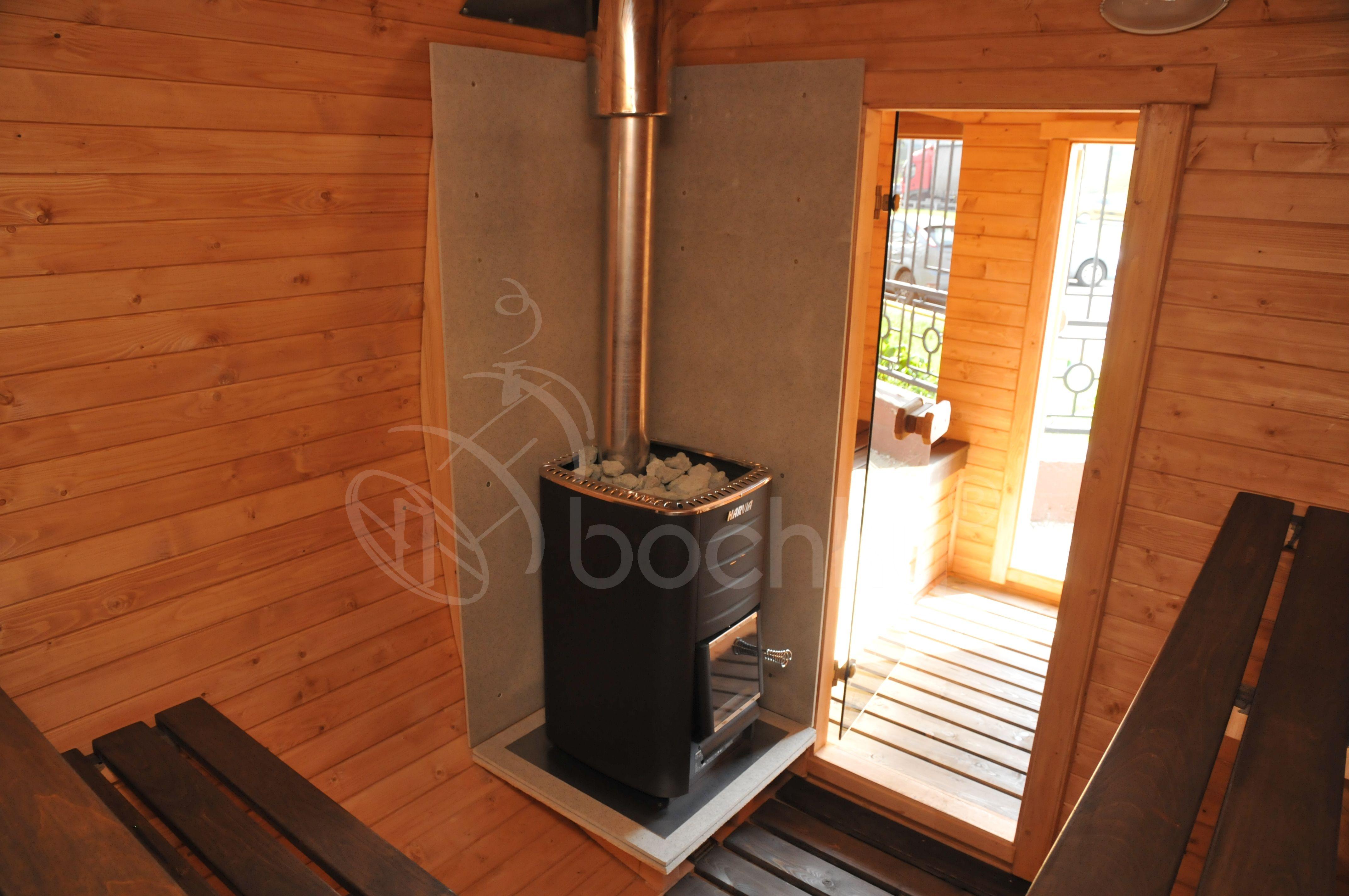 Баня октабочка внутри