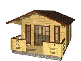 Elva with porch