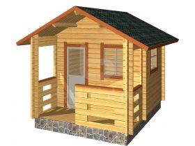 Kallaste with porch