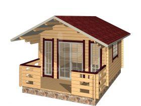 Tartu with porch