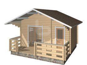 Loksa with porch