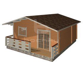 Kuressaare with porch