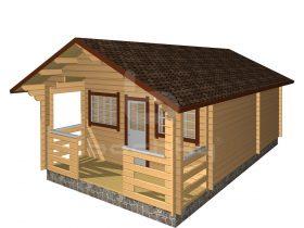 Rakvere with porch