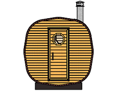 Octa barrel saunas